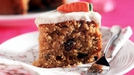 Carrot Cake with Lemon Icing - (Tom The Afternoon Show) The perfect accompaniment to tea.