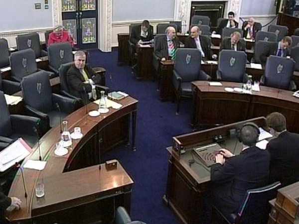 Seanad - Poor attendance at some votes