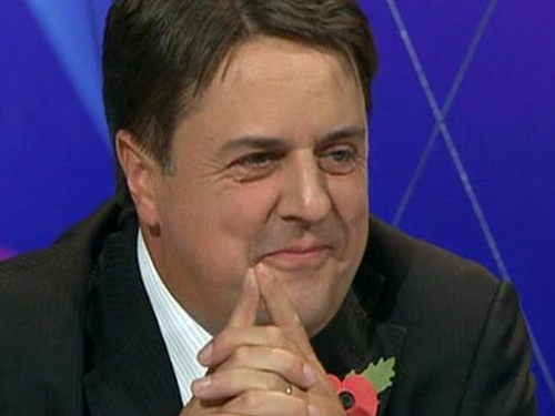 Nick Griffin - Appeared on BBC's Question Time