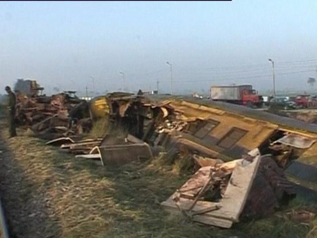 Egypt - Two trains crashed