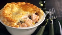 Simple Fish Pie - A simple, quick fish dish.