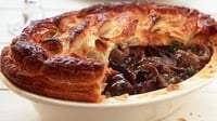 Steak and Kidney Pie - A hearty pie that's sure to satisfy your appetite!