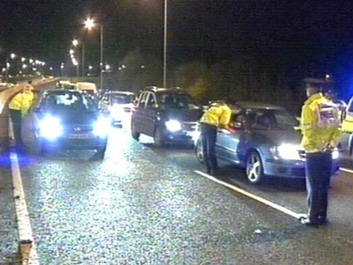 Garda - Mandatory testing at accidents