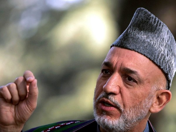Hamid Karzai - Wants peace council