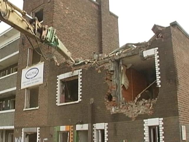 Fatima Mansions - Demolished