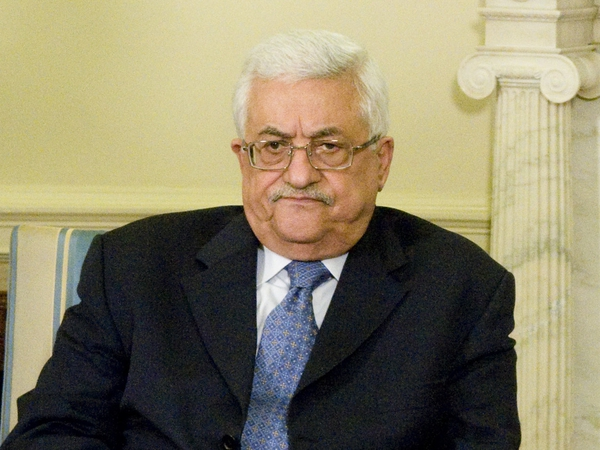 Mahmoud Abbas - Demands removal of settlements