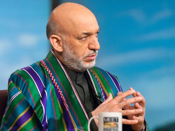 Hamid Karzai - Wants to negotiate a peace settlement