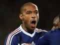 French fans jeer Thierry Henry