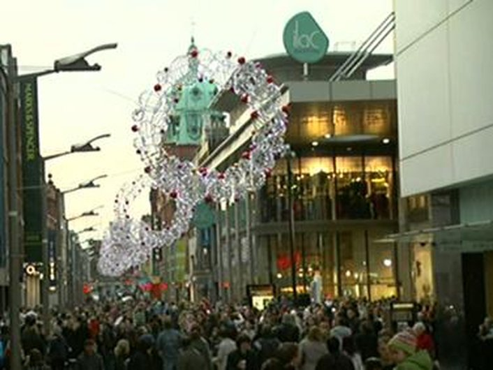 Irish people spend the most in Europe at Christmas