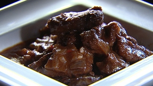 A rich beef treat, Catherine Fulvio's Beef with Red Wine.