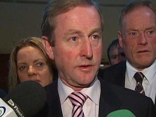 Enda Kenny - Support for party at highest level