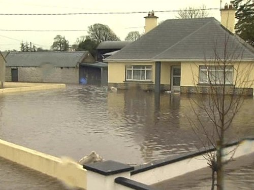 Galway - Houses flooded