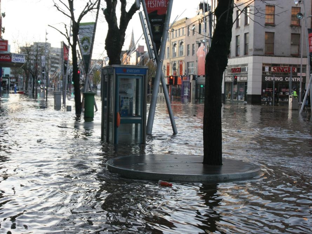Cork - Severe flooding in recent weeks