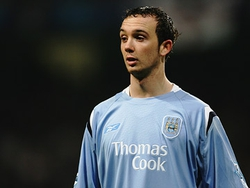 Stephen Ireland playing for Manchester City in 2006