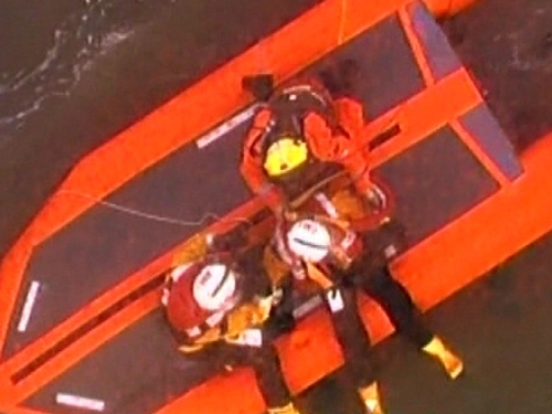 Wexford - Lifeboat rescue