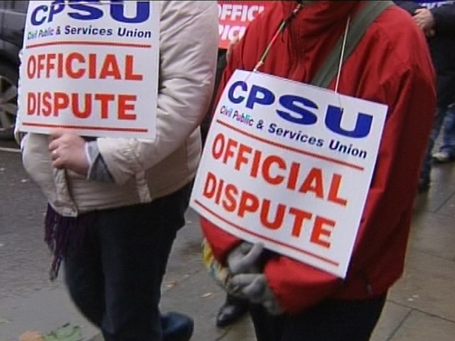 Cork - Public sector strike