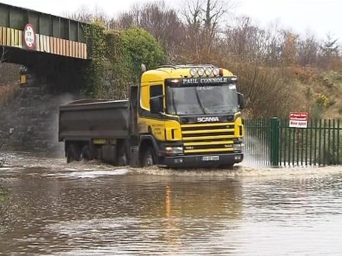 Limerick - Council monitoring rising water levels