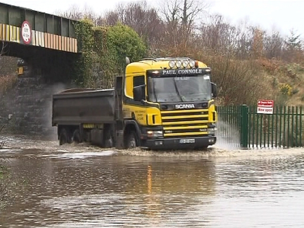 Limerick - Council monitoring rising water levels