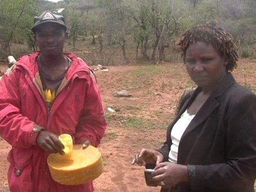 Amos & Margaret  - Beekeepers in Eldama Ravine