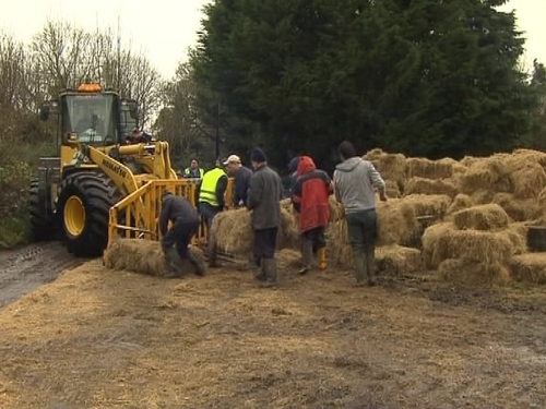 Farmers - Hay delivered to isolated farms