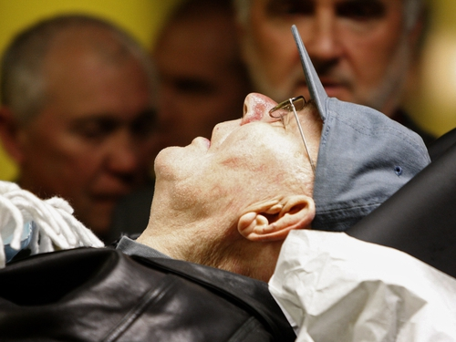 John Demjanjuk - Accused of exaggerating health problems