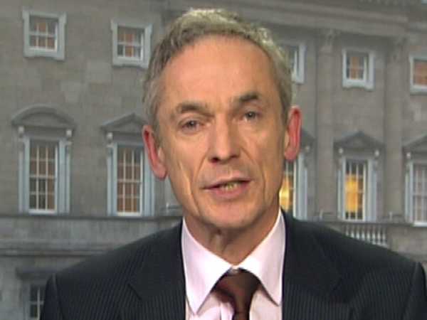 Richard Bruton - Failed to offer Kenny backing