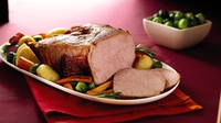 Balsamic Braised Glazed Ham Fillet - Garth McColgan's recipe ensures succulent sweet baked ham without any mishaps.