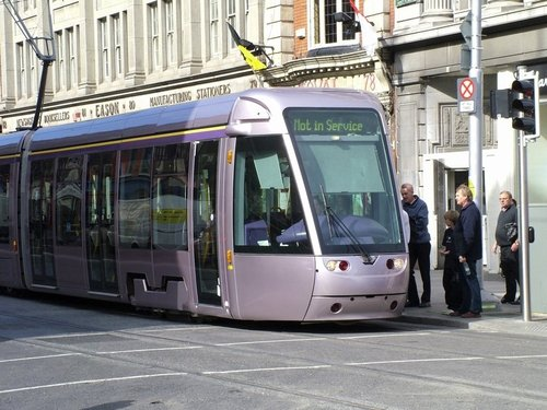 Luas - Red Line extends to The Point