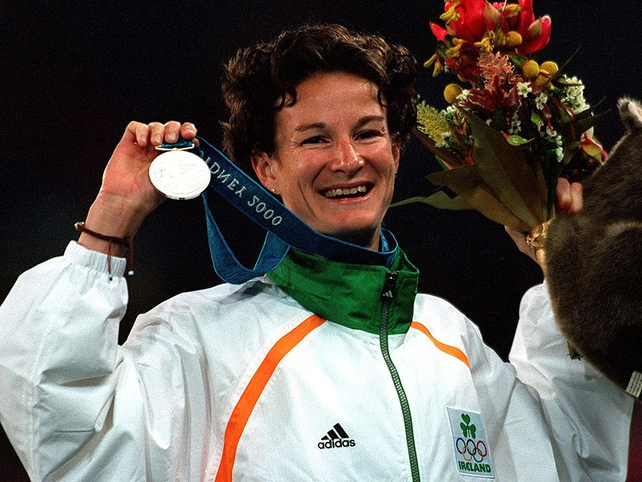 Sonia O'Sullivan won silver at the Sydney Olympics in 2000