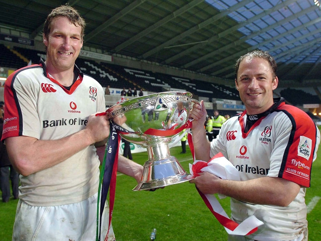 Ulster secured the trophy in 2006