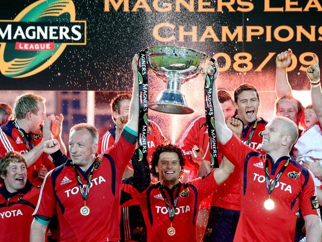 Munster are the most recent Irish Magners League winners, taking the title in 2009