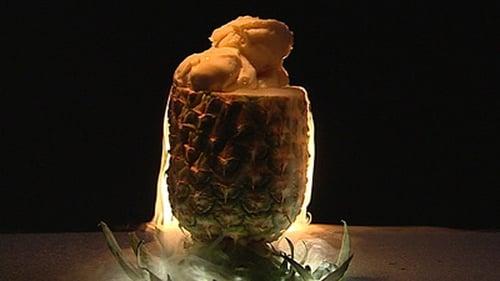 Carpaccio of Pineapple and Coconut Ice Cream