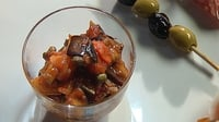 Caponata - Catherine Fulvio offers her version of Caponata which she serves as the centrepiece to a plate of antipasti.