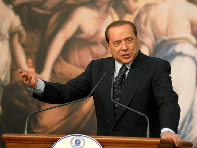 Silvio Berlusconi - Attacked in Milan
