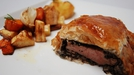 Lamb En Croute, Roasted Root Vegetables with Rosemary and Garlic - Des Cahill serves up this tasty main course.