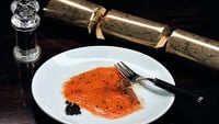 Smoked Salmon with Black Pepper and Honey - A simple starter from Richard Corridan - ideal for Christmas Day.