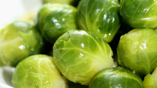 Brussels Sprouts With Butter (or Cannellini) Beans