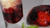 A Trio of Autumn Berries - Mary Kennedy serves up a delightful dessert in The Restaurant.