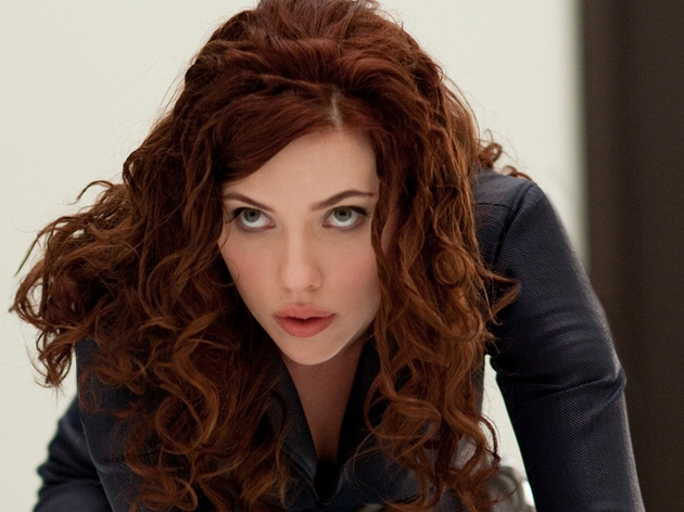 Johansson - Looks great in a cat suit and a scrap but doesn't get to do much else