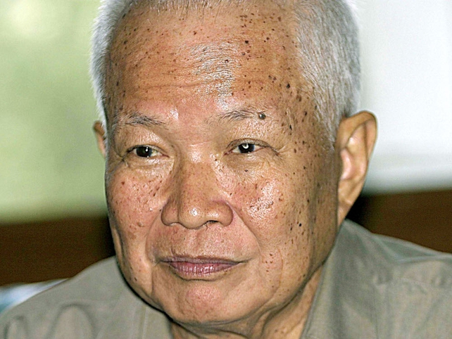 Khiew Samphan - Charged with genocide