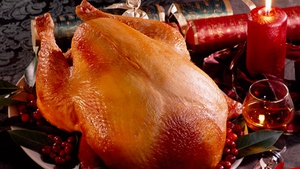 Fresh Irish Turkey with Traditional Sage, Walnut and Onion Stuffing