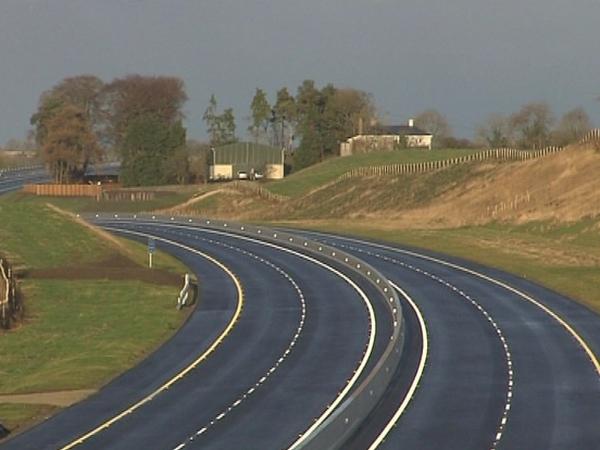 M9 - 28km motorway opened today