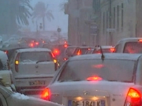 Germany - Weather affecting traffic