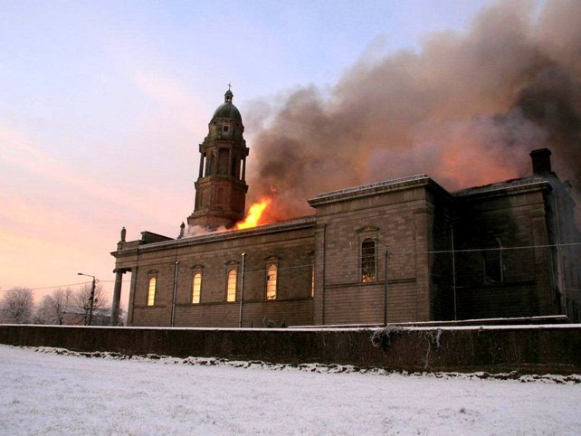Longford - Cathedral gutted on Christmas Day