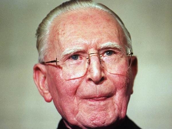 Cardinal Cahal Daly - Seriously ill in hospital in Belfast