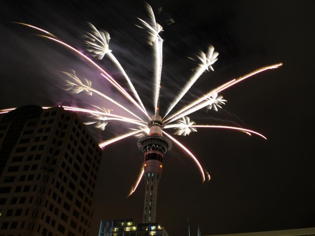 Auckland - Has already welcomed the New Year