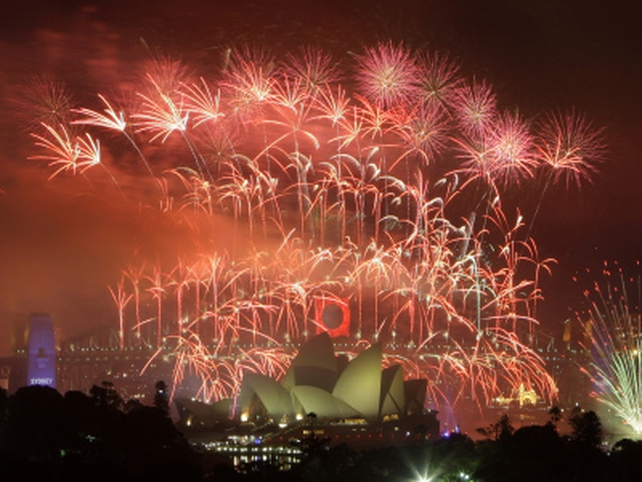 Sydney - Spectacular fireworks display