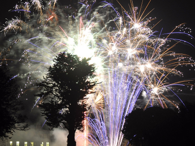 New Year - Fireworks at Dromoland Castle - (Pic: David Crimmins)