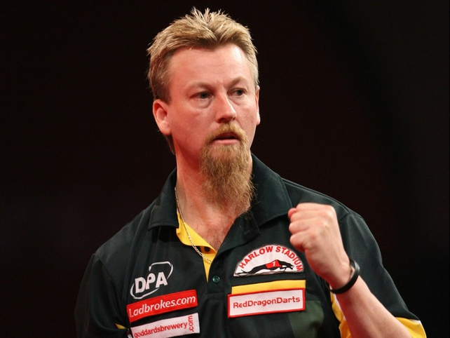 Aussie Simon Whitlock knocked out the much-fancied James Wade