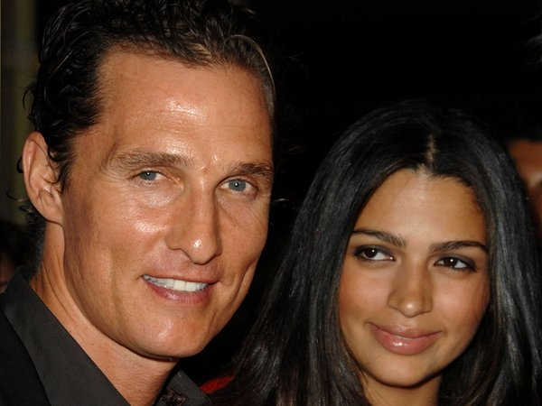 McConaughey and Alves - Second child born on Sunday